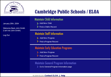 Early Learning Opportunities Act of Cambridge